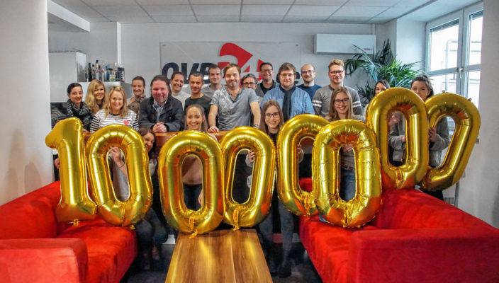 Die OVB24 GmbH generierte mit ihren Nachrichten-Portalen im Januar 2018 zum ersten Mal über zehn Millionen Besuche. Foto: Schindler/OVB24