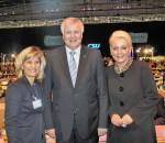 Ein starkes Trio – MdB Daniela Ludwig, Ministerpräsident Horst Seehofer und Oberbürgermeisterin Gabriele Bauer.