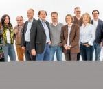 Auf dem Bild das Spitzenteam der Grünen von links mit Monika Fehr-Czischke, Judith Kley-Stephan, Karl-Heinz Brauner, Peter Weigel, Franz Lukas, Peter Rutz, Daniela Dieckhoff, Franz Opperer, Anna Rutz, Sebastian Dürbeck und Verena Weindel.