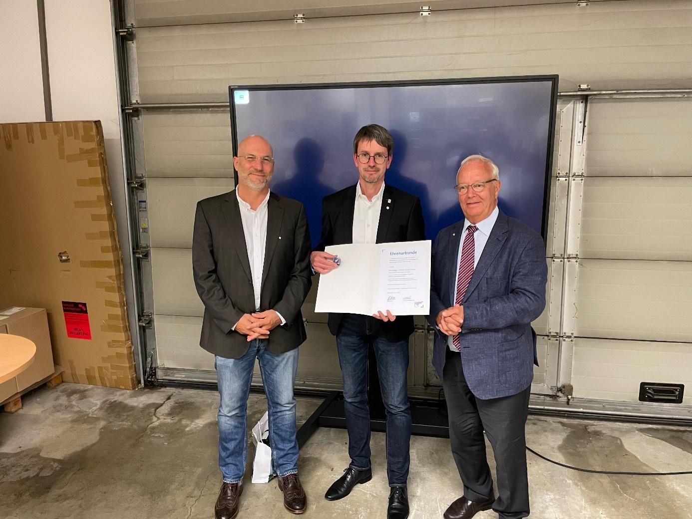 Gewerbeverband Rosenheim gratuliert!