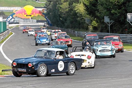 """Rennsportgeschichte aus nächster Nähe gibt es beim """"Sounds of Speed"""" des ADAC Südbayern am 26. August auf dem legendären Salzburgring zu erleben. Foto: ADAC Südbayern/Gerleigner)"""