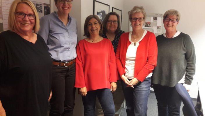 Gemeinsam für die Interessen der Frauen (von links): Angelika Graf, MdB a.D., Britta Promann, Susanne Kieslinger, Angelika Rösner, Elisabeth Jordan und Susanne Zellner.