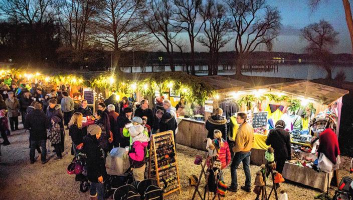 Der Weihnachtsmarkt in Bernau entfaltet einen ganz besonderen Zaube.