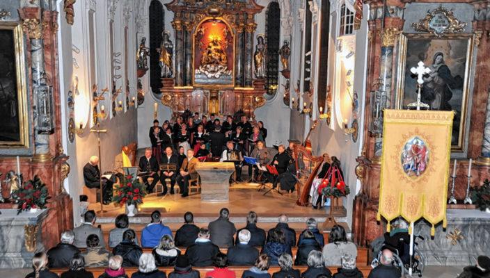 Advent in Heilig Blut. Foto: Schlecker