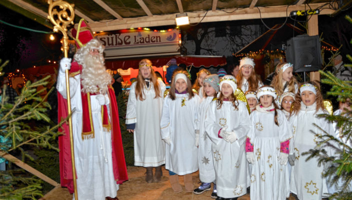 Auch in diesem Jahr freuen sich die Kleinen vor allem auf den Nikolaus. Foto: Franz Ruprecht