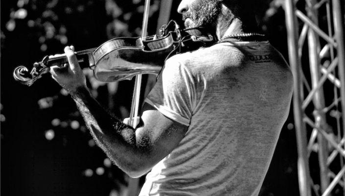 Ein Virtuose an der Geige: Alessandro Quarta.
