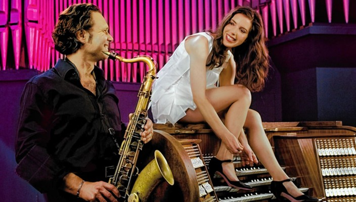 Mulo Francel und Nicole Heartseeker.