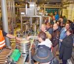 Einmal hinter die Kulissen der Auer Brauerei schauen – das begeisterte die Gäste.