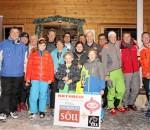 Strahlende Gesichter bei der Siegerehrung: Der V.I.P.-Skicup war ein voller Erfolg!