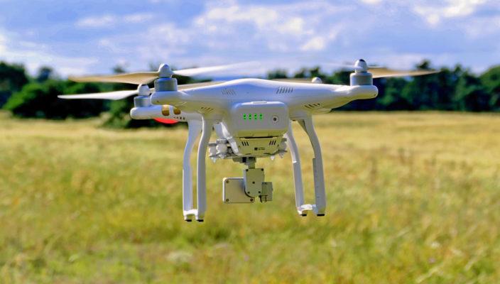 Drohne im Anflug: Diese Technik fasziniert immer mehr Bundesbürger. Fotos: pixabay