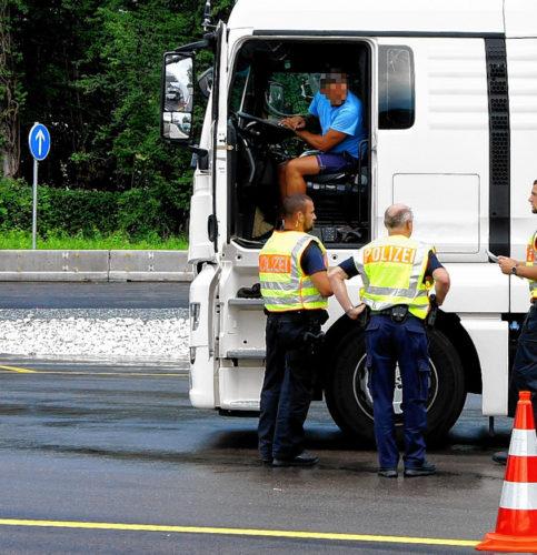 Die Bundespolizei ist unter anderem zuständig für die die Binnengrenzfahndung. Foto: Bundespolizei