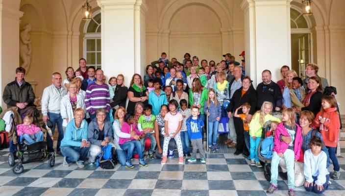 Rund 30 Familien nahmen in diesem Jahr am Ausflug der Adoptivfamilien teil und hatten viel Spaß.