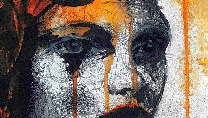 Inge Zuck bevorzugt bei ihren Porträts einen lockeren, expressiven Stil.