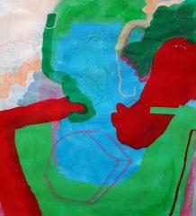 Blick in die Ausstellung von Franziska Eslami.