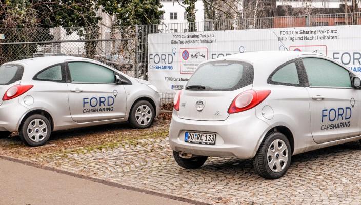 Hier könnte Ihr Carsharing-Parkplatz sein! Foto: re