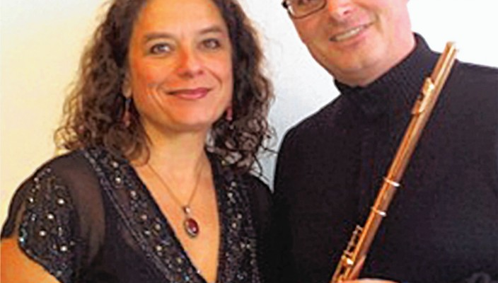 Andreas Schmidt und Olga Bolocan-Töppel.