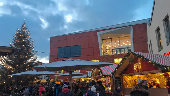 Vorweihnachtsfreude in Bad Aibling.