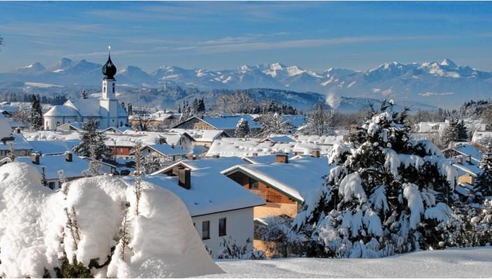 Bad Endorf: Eine Idylle im Chiemgau.