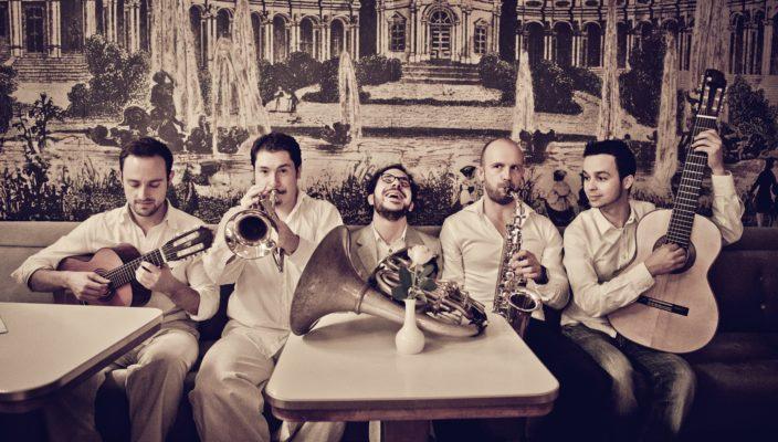 """Die Band """"Bavaschôro"""" versprüht Spiel- und Lebensfreude."""