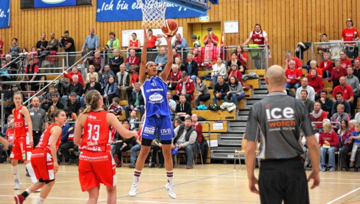 Nathalie Fontaine warf 36 Punkte. Foto: Goike