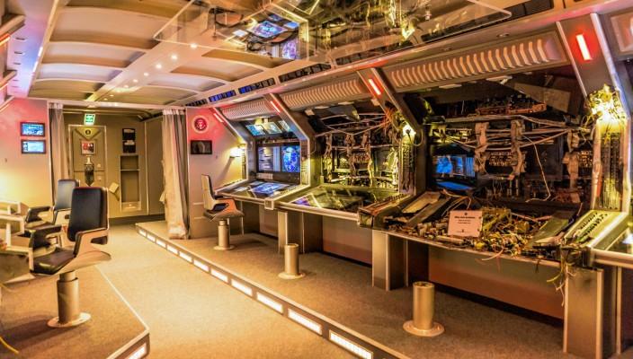 """""""Big Game"""" - bereits vor Kinostart können Sie einen Blick in die Air Force One werfen. Foto: Bavaria Filmstadt"""
