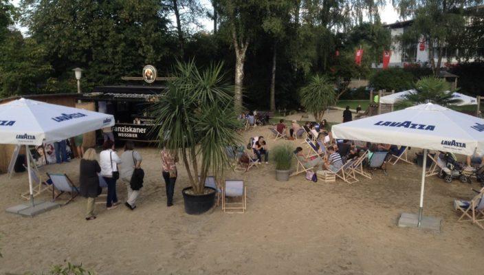 Auch in den letzten Jahren war die Beach Bar Prien ein voller Erfolg.
