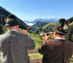 Ein traumhafter Ausblick von der Priener Hütte. Foto: H.Reiter