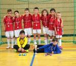 Große Freude bei den F-Jugend-Kickern des TSV 1860 Rosenheim, die den zweiten Platz im Turnier belegten.