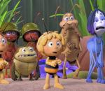 Die Biene Maja und ihre Freunde wollen bei den Honigspielen starten.