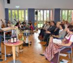 Gotthard Dobmeier, ehemaliger Umweltbeauftragter der Erzdiözese München und Freising, bei seiner Rede. Foto: Schlecker