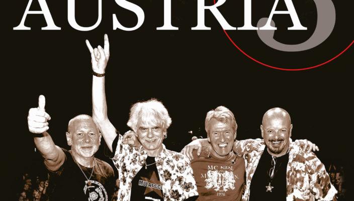 """Von links: Die Austropop-Urgesteine Harald Fendrich, Ulli Bäer, Harry Stampfer und Gary Lux sind """"Wir4""""."""
