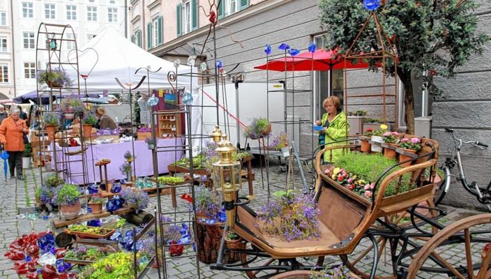 Auf der Suche nach einem schönen Stück für Heim oder Garten? Dann wird man sicherlich fündig bei den Märkten am kommenden Wochenende in Rosenheim.