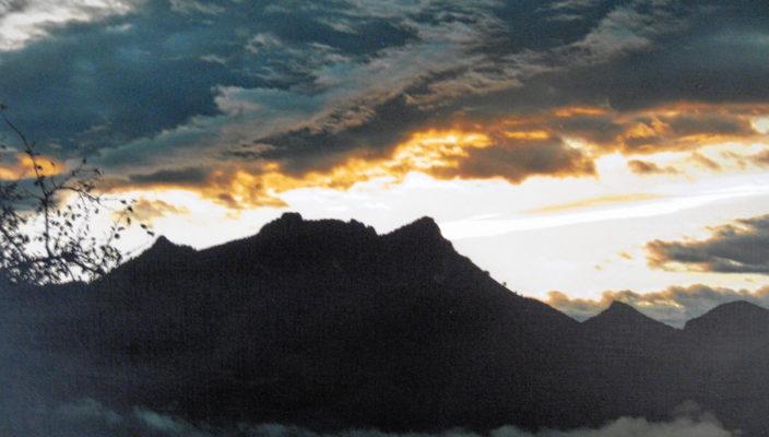 Ein Blick in die Ausstellung mit eindrucksvollen Naturfotografien von Helfried Wachter