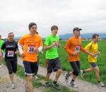 Die Laufsaison startet mit dem Burgfeldlauf.