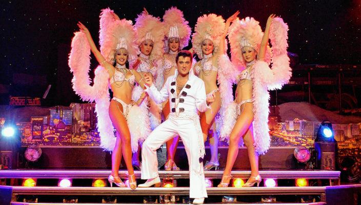 Elvis, wie er leibte, lebte und sang. Foto: Stars in Concert