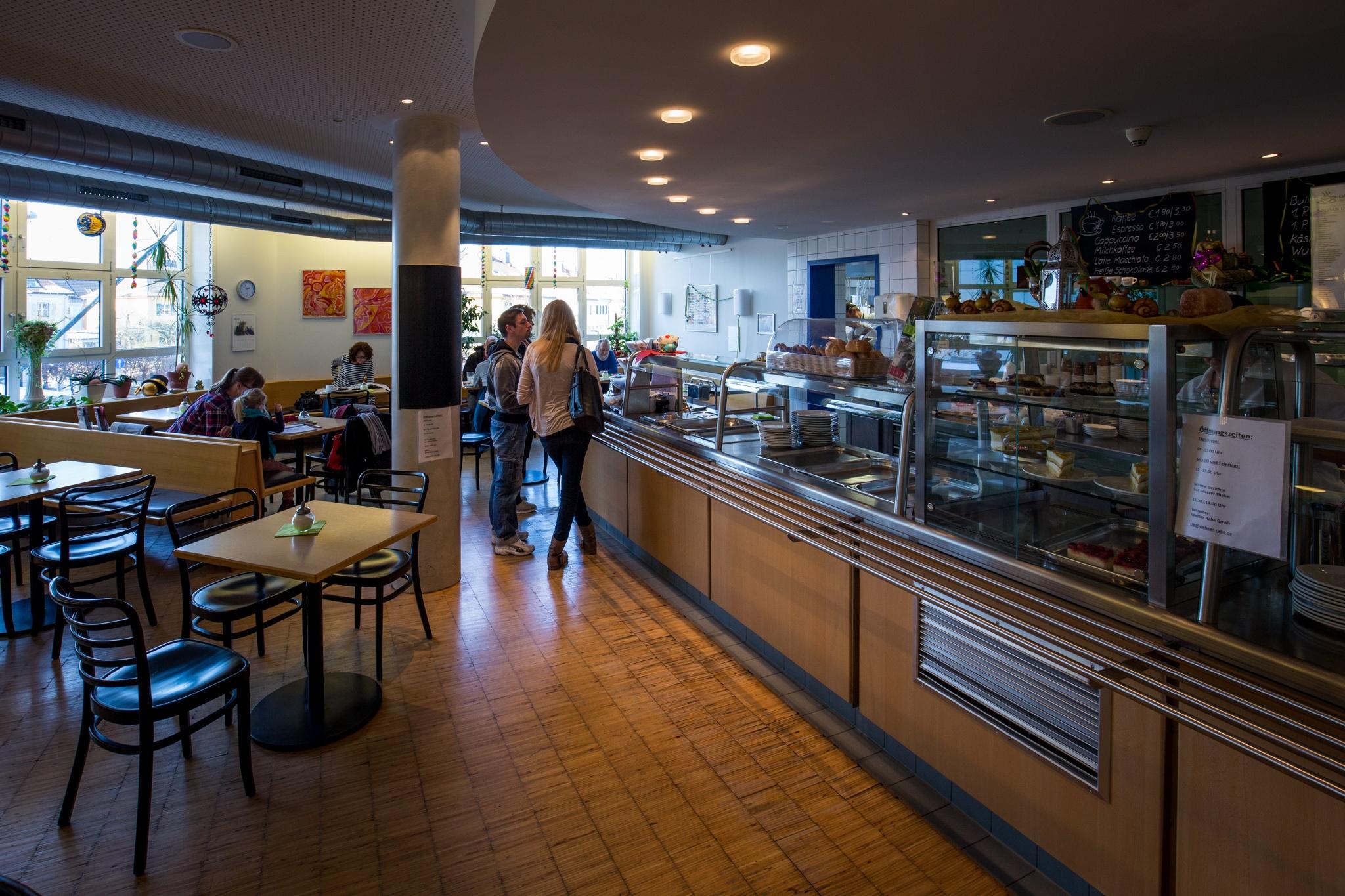 Inklusion in der Praxis – Das Café im Klinikum