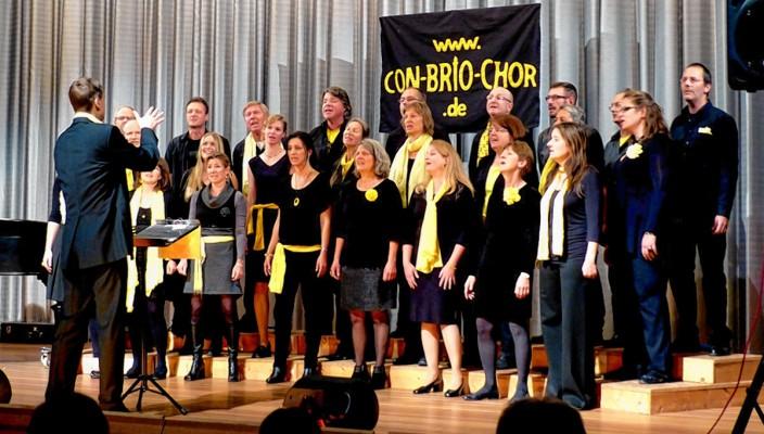 Dreimal ist der Con-Brio-Chor in den nächsten Wochen bei Konzerten in der Region zu sehen und zu hören. Foto: re