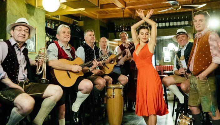 Auf Abschiedstournee: Die CubaBoarischen sind am 2. Januar auch in Rosenheim zu hören.