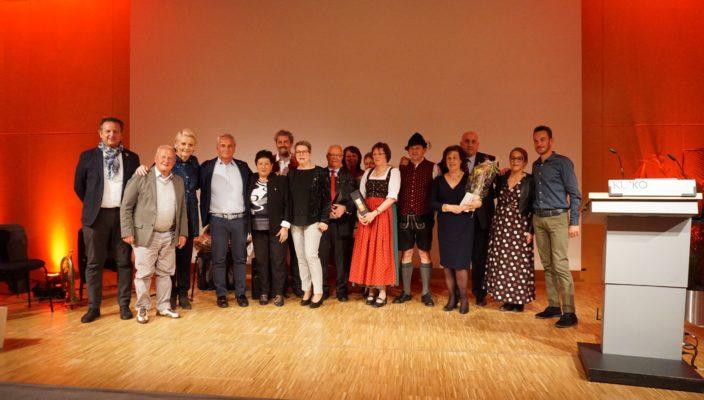 Die Delegation aus Lazise wurde von ihren Rosenheimer Freunden herzlich empfangen.