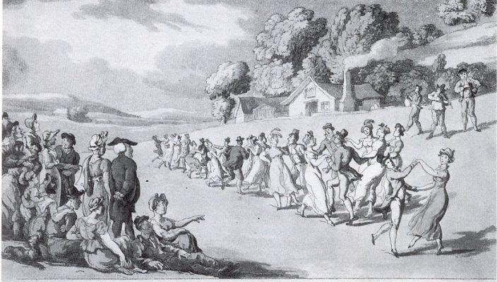 Historische Tänze machen auch heute noch Spaß