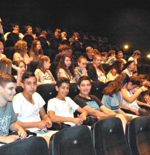 """Der Kinofilm """"Honig im Kopf"""" sorgte für viele besondere Einblicke für die Jugendlichen. Foto: Schlecker"""