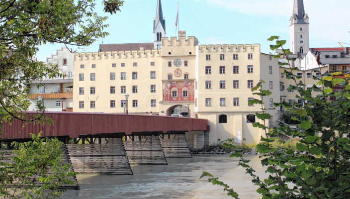 Das Brucktor in Wasserburg ist Treffpunkt für eine Führung.