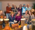 """""""Drummer Samma"""", zu Gast in Kolbermoor."""