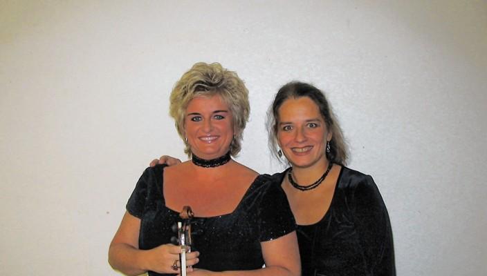 Duo Vivendi: Ilona Cudek (links) und Olga Töppel.