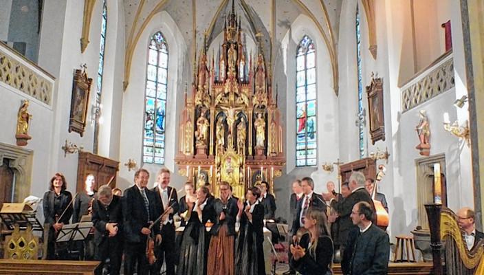 Der Rimstinger Kammerchor wird auch in diesem Jahr wieder mitwirken.