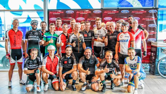 Ein sportlicher Traum ging für die Teilnehmer der Radrundfahrt in Erfüllung!