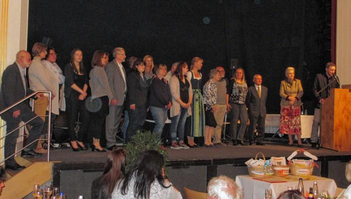 Oberbürgermeisterin Gabriele Bauer zeigte sich beeindruckt von den Aktivitäten der Rosenheimer Bürgerinnen und Bürger.