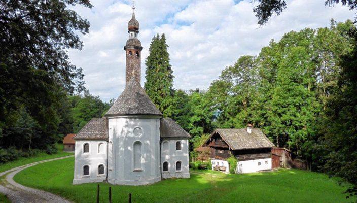 Die Einsiedelei in Nußdorf. Foto: hö