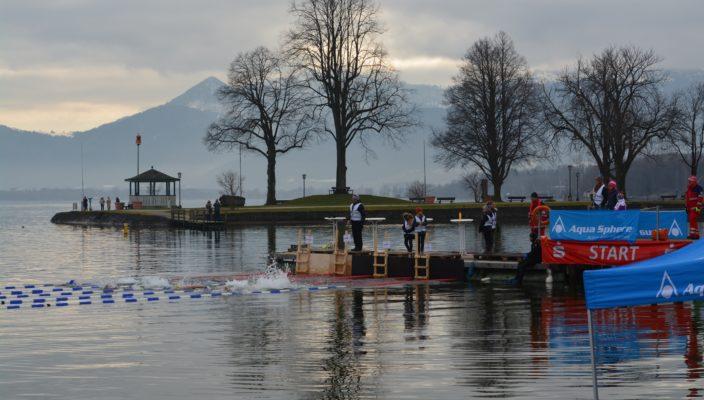 Der Sprung ins eiskalte Wasser ist nichts für verfrorene Schwimmer.