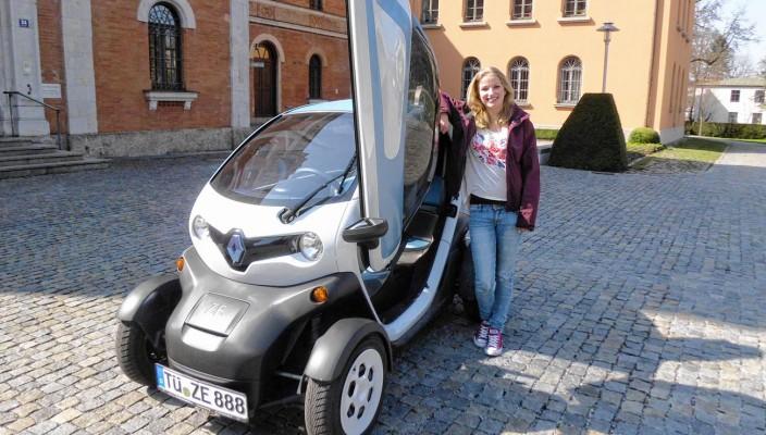 Klein, aber oho – dieses Elektrofahrzeug wird derzeit auf seine Einsatzmöglichkeiten getestet.